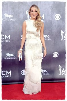 Carrie Underwood in Academy Of Country Music Awards Red Carpet 2014 in Las Vegas