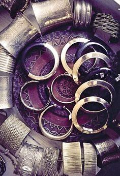 #bracciali di #metallo dall'#india. (E da #frida)