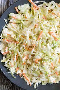 coleslaw recipe easy creamy \ coleslaw recipe ` coleslaw recipe easy ` coleslaw recipe for pulled pork ` coleslaw recipe vinegar ` coleslaw recipe easy creamy ` coleslaw recipe no mayo ` coleslaw recipe healthy ` coleslaw recipe for fish tacos Healthy Coleslaw Recipes, Best Coleslaw Recipe, Kfc Coleslaw, Coleslaw Salad, Cucumber Salad, Coslaw Recipes, Honey Recipes, Cooking Recipes, Veggies