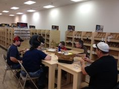 Here is a photo from our basic tooling class on Saturday 9/21/13 - Kansas City