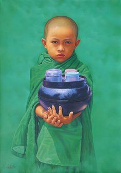Aung Kyaw Htet © Little Novice in Green.