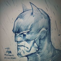 Batman - my drawing for 75th Anniversary of Caped Crusader.