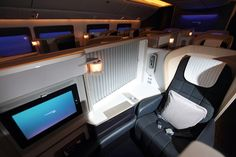 The re-fitted B777-200s now have BA's current First class cabin, which was launched in January 2011. (All images – British Airways)