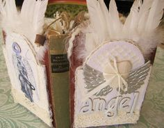 Altered book, Angel Book by Susanna, Sielunsolinaa.blogspot.com
