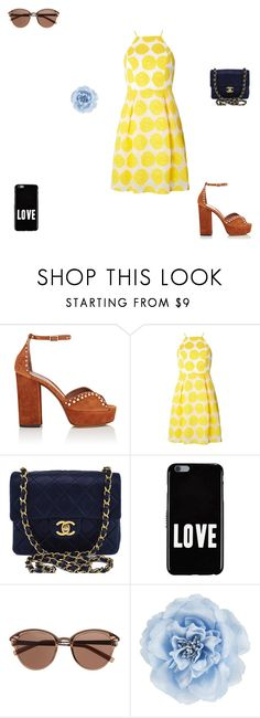 """idk 156"" by auroua-may-23 ❤ liked on Polyvore featuring Tabitha Simmons, Dorothy Perkins, Chanel, Givenchy, Witchery and Monsoon"