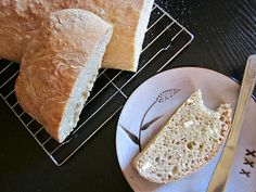 no knead ciabatta - I made this for some panini sandwiches and it was delicious! And oh so easy!