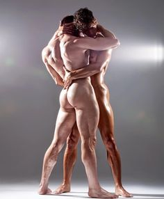 Davide Zongoli (Italian aerialist/dancer/model) & Niko Wirachman (German dancer) - photo by Joan Crisol, 2016 Anatomy Poses, Hard Bodies, Male Photography, What Is Tumblr, Male Physique, Gay Couple, Man In Love, Male Body, Sensual