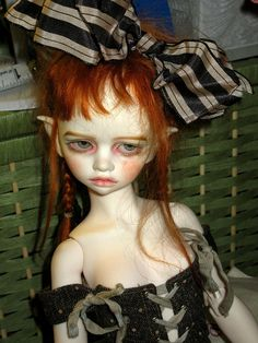 I love this doll!  Bellosse by artdollrags, Val Zeitler