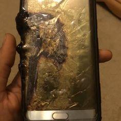 Поступило сообщение о взрыве смартфона Samsung Galaxy Note7 из новой партии
