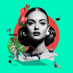 Collage // around the world on Behance Graphic Design Posters, Graphic Design Illustration, Graphic Design Inspiration, Collage Design, Collage Art, Creative Photography, Art Photography, Photoshop, Photocollage