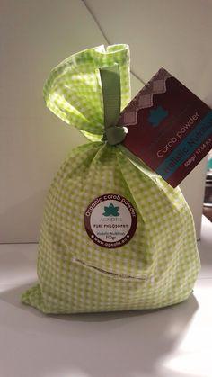 Nutritious healthy organic carob powder from Crete