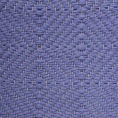 Big Diamond Twill, light lilac on the natural yarn Vandra Rugs Yarn Colors, Colours, Natural Linen, Scandinavian Design, Wool Felt, Bespoke, Lilac, Rugs, Diamond