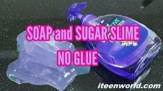 Do you wanna make slime with dish soap and glue? Then this article for you here I share step by step guide on how to make slime with dish soap. Slime With Out Glue, Slime No Glue, Slime Craft, Diy Slime, Slime With Shampoo, Slime With Shaving Cream, Make Slime For Kids, How To Make Slime, Dish Soap Slime