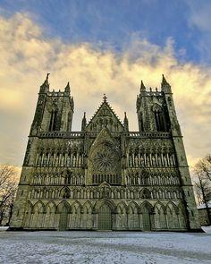 Trondheim, Nidaros Cathedral, Norway