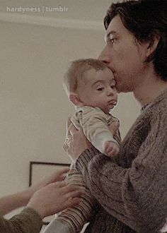 """""""Adam Driver holding a baby gives me life"""""""