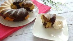 Low Carb, Keto, Gluten Free, Sugar Free, Dairy Free - Moist Tricolor Bundt Cake