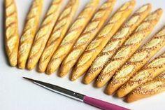 Simplystella's Sketchbook: DIY: Miniature Baguettes