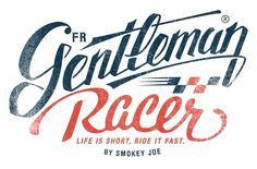 Logotype for Gentleman Racer Alex Ramon Mas design www.alexramonmas.com
