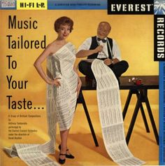 """Music Tailored to Your Taste"" by Anthony Tamburello (1958)."