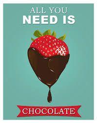 Afbeeldingsresultaat voor poster chocolade