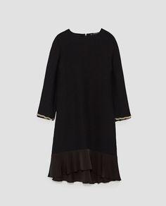 bb59cbc97724 Εικόνα 6 του ΦΟΡΕΜΑ ΡΙΠ ΜΕ ΛΕΠΤΟΜΕΡΕΙΑ ΣΤΗ ΜΑΝΣΕΤΑ από Zara Short Sleeve  Dresses