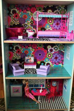 Fancy That: How I did it: DIY Barbie house