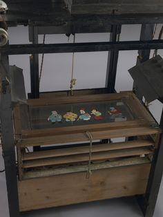 セル画用アニメーション撮影台(トレー上から)