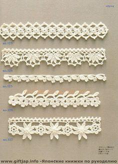 Crochet Edging And Borders - Trendy lace edging crochet patterns free vintage fan crochet edging - a free pattern Crochet Edging Patterns, Crochet Lace Edging, Crochet Borders, Lace Patterns, Crochet Trim, Crochet Edgings, Filet Crochet, Crocheted Lace, Pattern Ideas