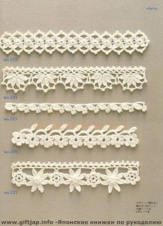crochet lace - the whole book @Picasa The Art of Design