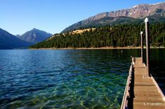 Wallowa Lake, Oregon - Some day I want to bring the family here.