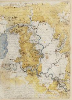 Tratados varios de fortificación estática y geometría - Leonardo da Vinci a la Biblioteca Nacional de Madrid