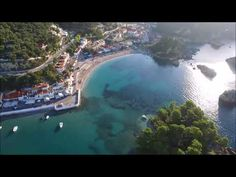 Parga Aerial Views Beach Bars, Aerial View, Greece, River, World, Outdoor, Greece Country, Outdoors, The World