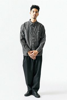 Noir brut Edwin Rail Veste Japanese Chambray M