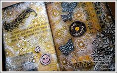 M.Paz Pérez-Campanero - Manos y Mente - Art Journal: Be Happy!!!