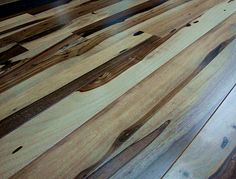 Brazilian Hickory - Macchiato Pecan x 3 x Clear Smooth- Prefinished Flooring. I looooove this!