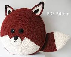 Image result for crochet bear pillow