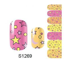 1 Pack Important 3D Decals Full Fashion Acrylic Colorful Popular Nail Art Stickers Style Code S1269 * Click on the image for additional details.