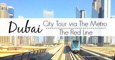 Dubai city tour by metro