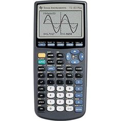 Texas-Instruments-Gray-TI-83Plus-Graphing-Calculator-Fast-Delivery-Easy-Handling