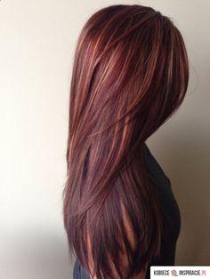 Piękny kolor włosów! - Kobieceinspiracje.pl