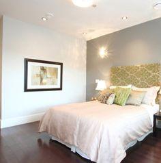 Gray Accent Wall Bedroom Ideas Pinterest Walls