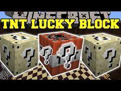 Minecraft: TNT LUCKY BLOCK MOD (TOO MUCH TNT!) Mod Showcase - YouTube