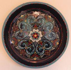 rosemaling | Rosemaling-tray-1980
