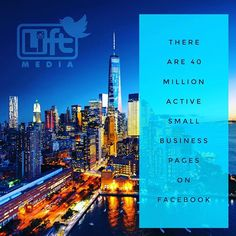 At LIFT Media we give you the business owner TIME back to focus on what is important to your business. Check out our website www.liftmedia.social to see how e can help you grow your social media presenence online.