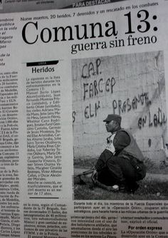 """Durante el inicio de la operación, siete personas resultaron capturadas. """"Guerra sin freno"""" titula el periódico El Mundo en su edición del 17 de octubre del 2002."""
