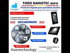 Protector liquido pantallas táctiles, móviles, tablets, etc. Fácil aplicación.  http://www.toronanotec.com/12-tienda-online