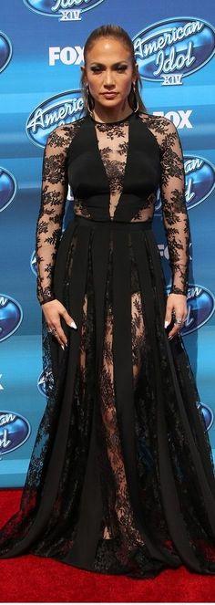 Jennifer Lopez In Zuhair Murad – American Idol Grand Finale Show