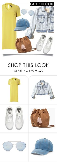 """""""GTL #4"""" by karalaska ❤ liked on Polyvore featuring Dorothy Perkins, Hollister Co., Vans, UGG, Quay, Mudd and chokerdress"""