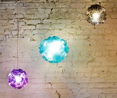 """Cloud"""" lampshade by Gráinne Lyons Design"""
