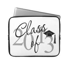 Class of 2013 Script Laptop Sleeves
